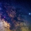 Milkyway - 40 pics stack,                                Srikanth Boga