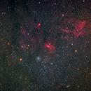 Messier 52 region,                                BramMeijer