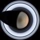 Saturn - North Polar Projection,                                Jason Guenzel