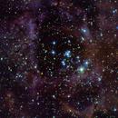 NGC 2244 - Satellite Cluster,                                Geert Vanden Broeck