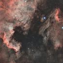North America & Pelican Nebula (HO-HOO),                                Mehdi Abed