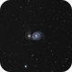 M51 - The Whirlpool Galaxy,                                Brian Poole
