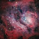 M8 The Lagoon Nebula,                                Toshiya Arai