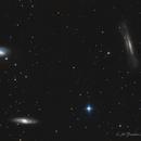 Messier 66 Group aka The Leo Triplet (crop),                                Fenton