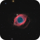 Helix Nebula with Ha Luminace,                                Doug Lalla
