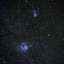 Trifid & Lagoon Nebula,                                Daniel Beetsma