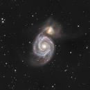 M51 - Whirlpool Galaxy,                                Pascal Gouraud