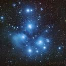 Pleiades - M45,                                Bruce Graham