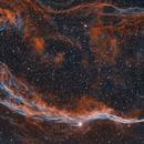 NGC6960, fragment of the Veil Nebula,                                JNieto