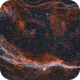 NGC6960, fragment of the Veil Nebula,                                JNieto