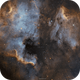 NGC 7000 and IC 5070  North America & The Pelican nebula in SHO mosaic,                                John