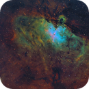 M16 Eagle Nebula in SHO-LRGB,                                equinoxx