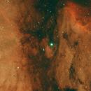 Pelican Nebula,                                Aaron Lisco