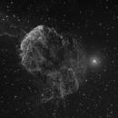 IC443 Jellyfish Nebula - Luminanz,                                equinoxx