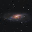 M106 Galaxy - HaLRGB,                                Mark Carter