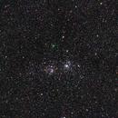 Comet C/2017 T2 Panstarrs above h+χ Persei - (IV),                                AC1000