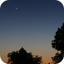 Volvestre evening landscape - Venus & Mercury - May 18th, 2020,                                Jean-Marie MESSINA