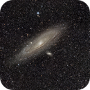 M31 - First Light with W.O. Redcat and ZWO ASI6200,                                Robert Q. Kimball