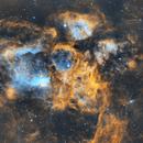 NGC6357 - War and Peace Nebula,                                Geoff Healey