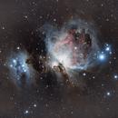 Orion Nebula M42 and Running Man Nebula,                                Andrei Gusan