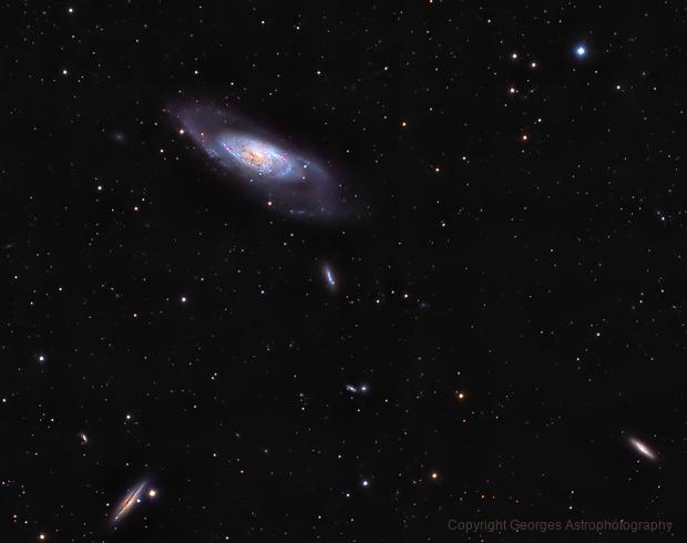 Messier106 en HaLRVB crop,                                Georges