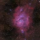 The Lagoon Nebula - M8,                                Daniel