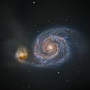 M51 The Whirlpool Galaxy,                                Shannon Calvert
