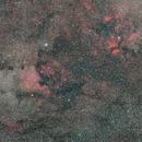 NGC7000 Nordamerika Nebel,                                Martin