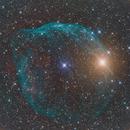 Sh2-308 - HOO RGB Stars,                                regis83