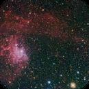 IC405 - Flaming Star Nebula,                                Linda