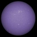 Sun FD in CaK 17th of July 2021 - colorized,                                Arne Danielsen