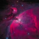 Orion Nebula - GIF-Animation,                                equinoxx