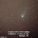 Comet C/2013 US10 50min GIF ,                                bbonic
