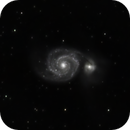 M51 - The Whirlpool Galaxy,                                Don Walters