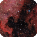 NGC 7000 and IC 5070 in close up,                                Wellerson Lopes