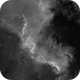 Cygnus Wall in H-alpha with finder scope,                                Doc_HighCo