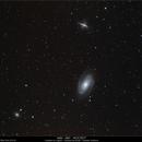 M 81 - M 82 - NGC 3077,                                Gérard Nonnez