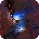 """Messier 78 in Lha-RGB """"Great Reflection Nebula in Orion"""",                                Utkarsh mishra"""
