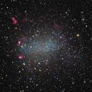 NGC 6822. Barnard Galaxy,                                Vlad Onoprienko