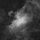 Eagle Nebula in H-alpha light,                                Ignacio Diaz Bobillo