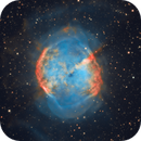 M27 (The Dumbbell Nebula) in HOO,                                Kevin Morefield