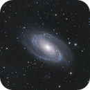 Bode's Galaxy and the Cigar galaxy,                                Jessi Wenke