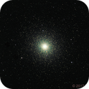 NGC104 , 47 Tucanae in RGB from a red zone,                                TWFowler