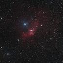 Bubble nebula,                                Mathieu Pontécaille