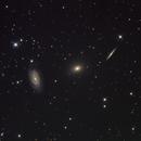 The Draco triplet - NGC5985/5982/5981,                                Ventsi Bo