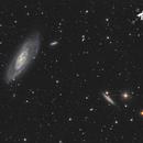 Galaxie M106 - Sadr Espagne,                                Julien Bourdette