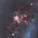 NGC 2060 : Nébuleuse de la Tarentule R(Ha)VB,                                Vincent.H