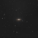 M104 Sombrero Galaxy,                                Nightsky_NL