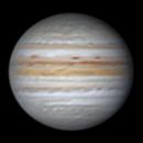 """Jupiter 44,6"""" arcsec,                                Lucca Schwingel Viola"""