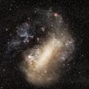 Large Magellanic Cloud (LCM), with Canon 135 mm / canon 6D,                                Andrés González